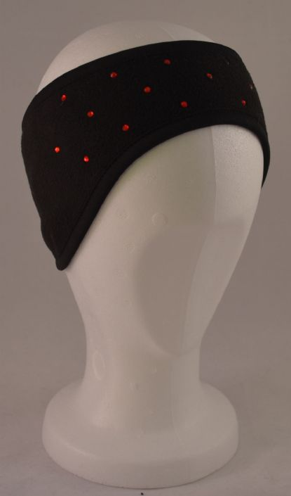 DIAMANTE FLEECE HEADBAND
